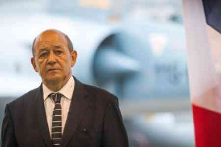 Jean-Yves Le Drian: Armenian democracy must withstand